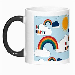 Be Happy Repeat Morph Mug by Kathrinlegg