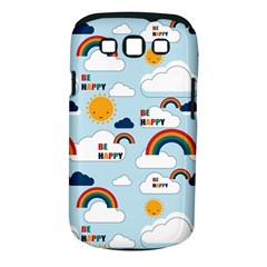 Be Happy Repeat Samsung Galaxy S Iii Classic Hardshell Case (pc+silicone) by Kathrinlegg