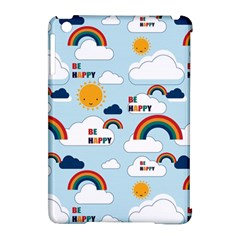 Be Happy Repeat Apple Ipad Mini Hardshell Case (compatible With Smart Cover) by Kathrinlegg