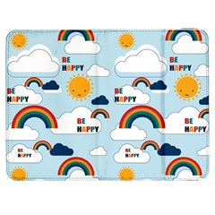 Be Happy Repeat Samsung Galaxy Tab 7  P1000 Flip Case by Kathrinlegg