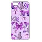 Purple Awareness Butterflies Apple Seamless iPhone 5 Case (Clear)