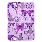 Purple Awareness Butterflies Kindle Fire HD 8.9  Hardshell Case