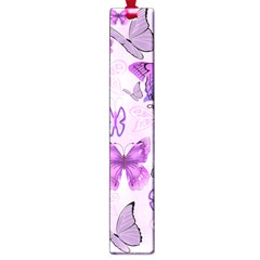 Purple Awareness Butterflies Large Bookmark by FunWithFibro
