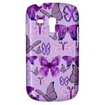 Purple Awareness Butterflies Samsung Galaxy S3 MINI I8190 Hardshell Case