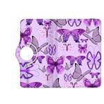 Purple Awareness Butterflies Kindle Fire HDX 8.9  Flip 360 Case