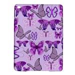 Purple Awareness Butterflies Apple iPad Air 2 Hardshell Case