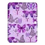 Purple Awareness Butterflies Samsung Galaxy Tab 4 (10.1 ) Hardshell Case