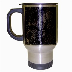 Nature Collage Print  Travel Mug (silver Gray) by dflcprints