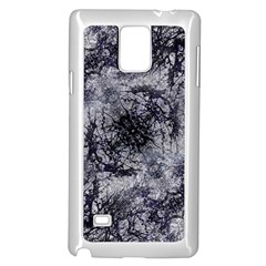Nature Collage Print  Samsung Galaxy Note 4 Case (White) by dflcprints