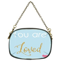 You Are Loved Chain Purse (one Side) by Kathrinlegg