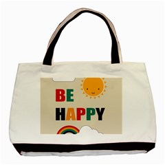 Be Happy Classic Tote Bag by Kathrinlegg
