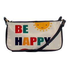 Be Happy Evening Bag by Kathrinlegg