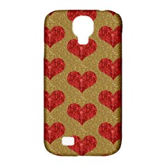 Sparkle Heart  Samsung Galaxy S4 Classic Hardshell Case (pc+silicone) by Kathrinlegg