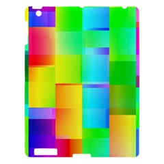 Colorful Gradient Shapes Apple Ipad 3/4 Hardshell Case by LalyLauraFLM