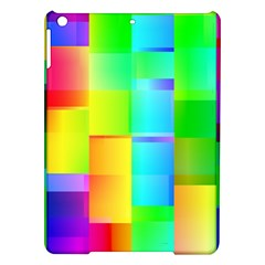 Colorful Gradient Shapes Apple Ipad Air Hardshell Case by LalyLauraFLM