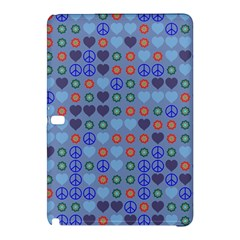 Peace And Lovesamsung Galaxy Tab Pro 10 1 Hardshell Case by LalyLauraFLM