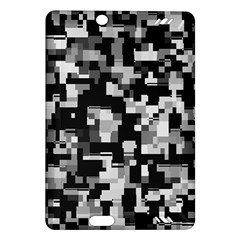 Background Noise In Black & White Kindle Fire Hd (2013) Hardshell Case by StuffOrSomething