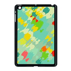 Smudged Shapes Apple Ipad Mini Case (black) by LalyLauraFLM