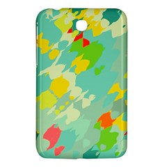 Smudged Shapes Samsung Galaxy Tab 3 (7 ) P3200 Hardshell Case  by LalyLauraFLM