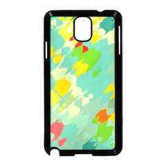 Smudged Shapes Samsung Galaxy Note 3 Neo Hardshell Case