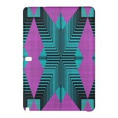Tribal Purple Rhombus	samsung Galaxy Tab Pro 12 2 Hardshell Case by LalyLauraFLM