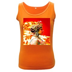 Mata Hari Women s Dark Tank Top by icarusismartdesigns
