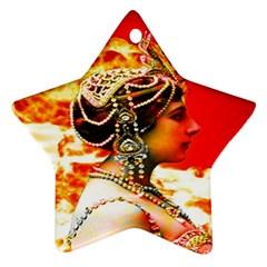 Mata Hari Star Ornament (two Sides) by icarusismartdesigns