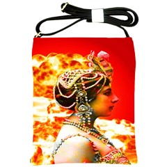 Mata Hari Shoulder Sling Bag by icarusismartdesigns