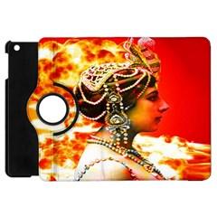 Mata Hari Apple Ipad Mini Flip 360 Case by icarusismartdesigns