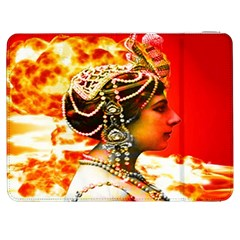 Mata Hari Samsung Galaxy Tab 7  P1000 Flip Case by icarusismartdesigns