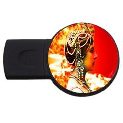 Mata Hari Usb Flash Drive Round (2 Gb) by icarusismartdesigns