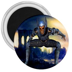 Wasteland 3  Button Magnet by icarusismartdesigns