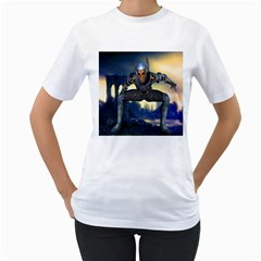 Wasteland Women s Two-sided T-shirt (White)