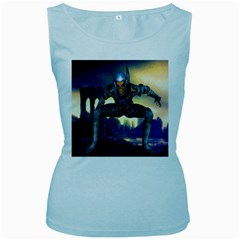 Wasteland Women s Tank Top (baby Blue) by icarusismartdesigns