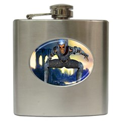 Wasteland Hip Flask by icarusismartdesigns