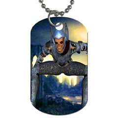 Wasteland Dog Tag (two Sided)  by icarusismartdesigns