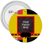The Big Cheese Button - 3  Button