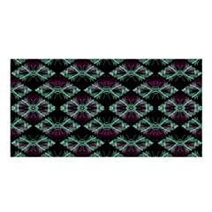 Elegant Pattern Print Satin Shawl by dflcprintsclothing