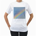 Rainbow Women s Two-sided T-shirt (White)