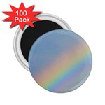 Rainbow 2.25  Button Magnet (100 pack)