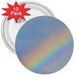 Rainbow 3  Button (10 pack)