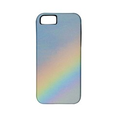Rainbow Apple Iphone 5 Classic Hardshell Case (pc+silicone) by yoursparklingshop