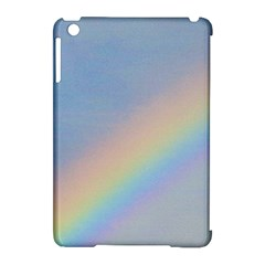 Rainbow Apple Ipad Mini Hardshell Case (compatible With Smart Cover) by yoursparklingshop