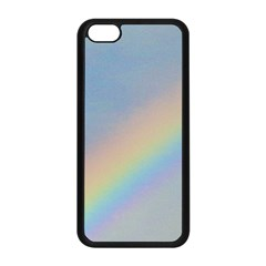 Rainbow Apple Iphone 5c Seamless Case (black) by yoursparklingshop