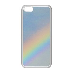 Rainbow Apple Iphone 5c Seamless Case (white) by yoursparklingshop