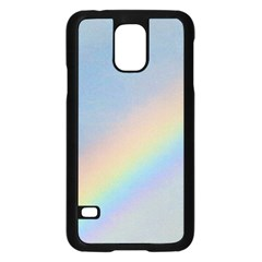 Rainbow Samsung Galaxy S5 Case (black) by yoursparklingshop