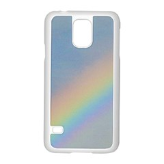 Rainbow Samsung Galaxy S5 Case (white) by yoursparklingshop