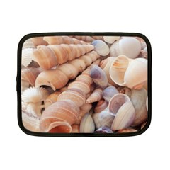 Seashells 3000 4000 Netbook Sleeve (small) by yoursparklingshop