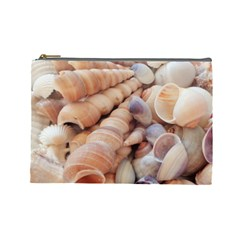 Sea Shells Cosmetic Bag (Large) by yoursparklingshop
