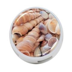 Sea Shells 4 Port Usb Hub (one Side) by yoursparklingshop